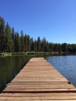Diamond Lake dock 2014