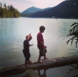 The boys at Lost Lake
