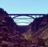 Crooked River Gorge bridges