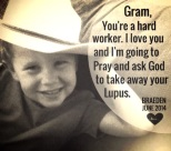 "He loves his ""Gram""!"