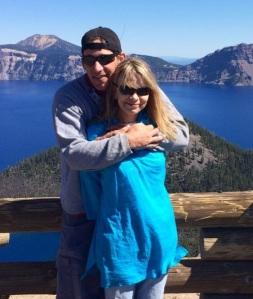 Bryce & I at Crater Lake