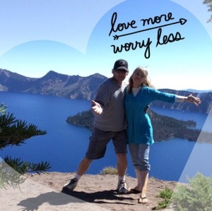 Bryce & I at Crater Lake