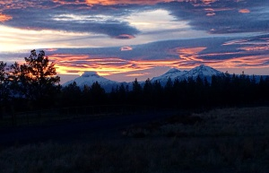 Central Oregon Sunset